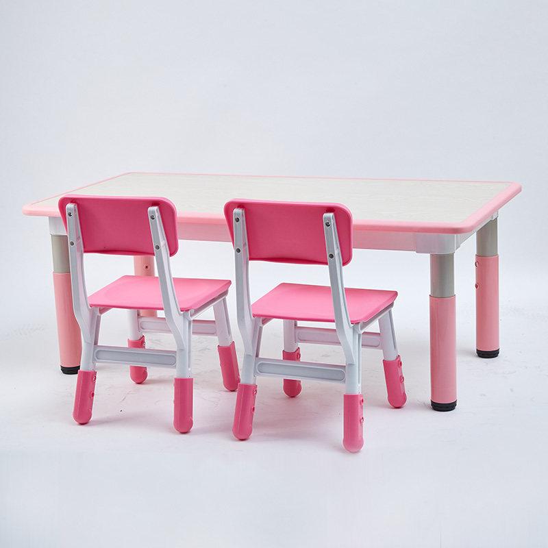 Yongjia Feiqi Toy Co Ltd, Pink Wooden School Desk